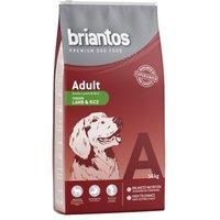 Briantos Adult  con cordero y arroz - Pack % - 2 x 14 kg