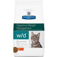 Hill's w/d Prescription Diet pienso para gatos - 5 kg