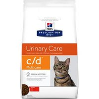 Hill's Prescription Diet c/d Multicare Urinary Care Katzenfutter mit Huhn - Sparpaket: 2 x 10 kg