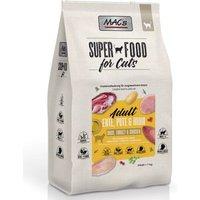 Sparpaket MAC's Superfood for Cats Großgebinde 2 x 7 kg - Adult Ente, Pute & Huhn