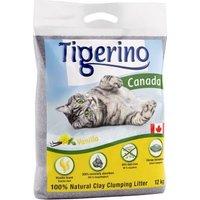 Limited Edition: Tigerino Canada Katzenstreu - Vanilleduft - 12 kg
