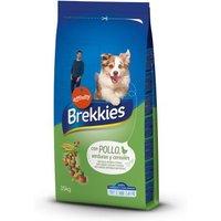 1 kg gratis! 14 kg / 15 kg Brekkies Hundefutter - Complete Chicken (15 kg)