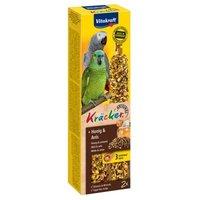 Vitakraft Kräcker Papagei - 2 Sticks Honig & Anis (180 g)