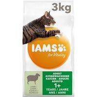 IAMS for Vitality Ausgewachsene Katzen mit Lamm - 10 kg