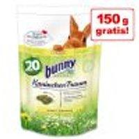 1,5 kg + 150 g gratis! Bunny Sogno BASIC per conigli Edizione Anniversario 1,5 kg + 10% gratis