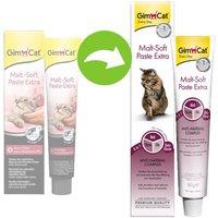 GimCat Malt-Soft Extra Pâte au malt pour chat - 2 x 50 g