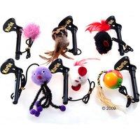 Jouet pour arbre à chat - 1 jouet avec des accessoires