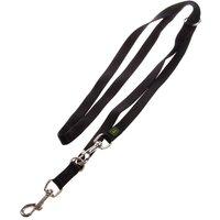 Laisse Hunter Vario Basic, noir pour chien - L 200 x l 1,5 cm