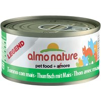 Lot Almo Nature Legend 12 x 70 g - thon, crevettes