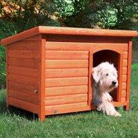 Niche Trixie Natura à toit plat pour chien - taille M-L : l 104 x P 68 x H 72 cm