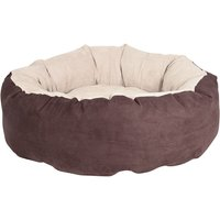 Hunting Pet Bed - Brown / Beige - Diameter 90cm