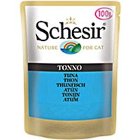 Schesir Adult Pouch 6 x 100g - Tuna with Salmon