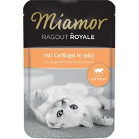 Miamor Ragout Royale Kitten in Jelly 22 x 100g - With Beef
