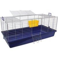 Skyline Maxi XXL Small Pet Cage - Dark Blue: 119 x 59 x 47 cm (L x W x H)