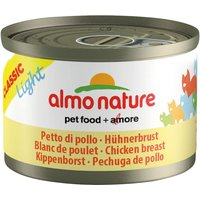 Lot Almo Nature Light 24 x 50g - lot thon & poulet I