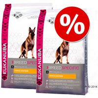 Pack Ahorro: Eukanuba Breed 2 x 7,5/12 kg - Golden Retriever - 2 x 12 kg