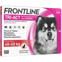 FRONTLINE TRI-ACT Chien, 40 - 60 kg - 6 pipettes