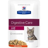 24x85g i/d Digestive Care poulet pour chat Hill's Prescription Diet