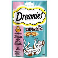 Dreamies Plus Skin & Coat - Saver Pack: 6 x 55g