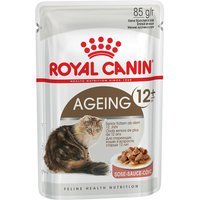 Royal Canin Mature Jelly & Gravy Mixed Pack 24 x 85g - Ageing +12 in Jelly & Gravy