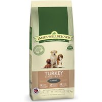 James Wellbeloved Light - Turkey & Rice - Economy Pack: 2 x 12.5kg