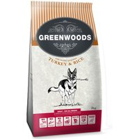 Greenwoods Dog Food 2kg - Trial Pack - Adult - Turkey & Rice (2kg)