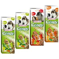 Crispy Sticks for Herbivores Mixed Pack - 4 x 2 Sticks (440g)