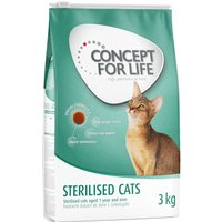 Concept for Life Economy Packs - Sterilised Cats (2 x 10kg)