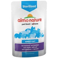 Lot Almo Nature Besoins Spécifiques 24 x 70 g - Urinary Support : poisson