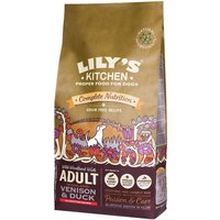 Lilys Kitchen Adult Highland Venison & Duck Grain Free Dry Food for Dogs - Economy Pack: 2 x 12kg