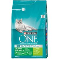 Purina ONE Special Needs Dry Cat Food Economy Packs - Indoor - Turkey & Whole Grains (2 x 3kg)