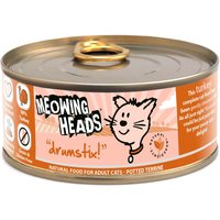 Meowing Heads Drumstix Adult Chicken & Turkey - Saver Pack: 24 x 100g