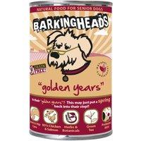 Barking Heads Golden Years Senior Chicken & Salmon Wet Dog Food - 6 x 400g