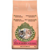 Harringtons Complete Cat Salmon with Rice - Economy Pack: 2 x 2kg