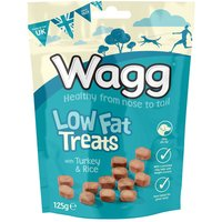 Wagg Low Fat Treats - Saver Pack: 3 x 125g