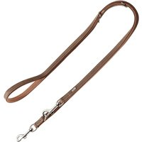 Hunter Porto Organic Leather Dog Lead Light Brown - 200cm