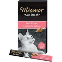 Miamor Cat Snack Salmon-Cream - 6 x 15g