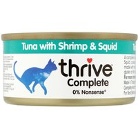 thrive Complete Adult - Tuna with Shrimp & Squid - 6 x 75g