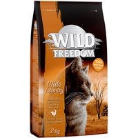 Wild Freedom Adult Dry Cat Food Economy Pack 3 x 2kg - Green Lands - Lamb