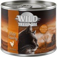Wild Freedom Adult 6 x 200g - Golden Valley - Rabbit & Chicken