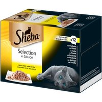 Sheba Tray Multipack - Fine Recipes in Sauce 48 x 85g