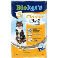 10L Classic 3in1 sans parfum Biokat's - Litière pour Chat