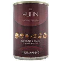 Herrmanns Pure Viande 6 x 400 g - pur poulet bio