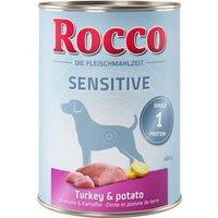 Rocco Sensible 24 x 400 g - dinde, pommes de terre