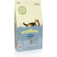 James Wellbeloved Adult Cat Housecat - Duck - 4kg