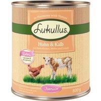 Lukullus Junior Chicken & Veal - 6 x 800g