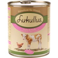 Lukullus Junior Chicken & Veal - 6 x 800g