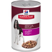 Hills Science Plan Wet Dog Food Saver Packs 12 x 370g - Mature 7+ Savoury Chicken