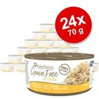 Applaws Grainfree en caldo 24 x 70 g - Pack Ahorro - Pack mixto