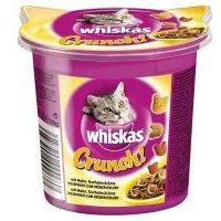 Whiskas Crunch con pollo, pavo y pato - 10 x 100 g - Pack Ahorro